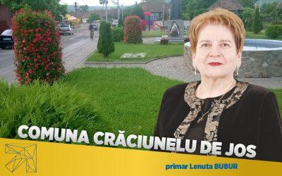Lenuța Bubur: proiectele pentru dezvoltarea infrastructurii au sporit gradul de confort al locuitorilor din comuna Crăciunelu de Jos