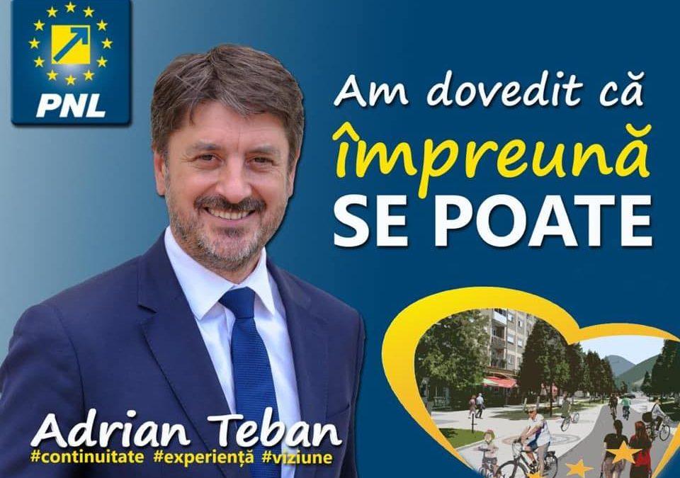 Adrian Teban: Sub administraţie liberală, proiectele schimbă faţa Cugirului