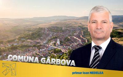 Ioan Nedela: Rigoare europeană în planificarea dezvoltării comunei Gârbova