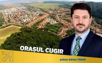 Adrian Teban: PNL Cugir face cunoscut programul de investitii pentru fiecare zonă şi pentru serviciile publice din localitate