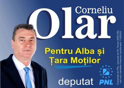 Corneliu Olar a făcut și va face ce trebuie pentru Alba și Țara Moților