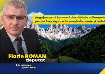 Angajamentul Roman – Boloș: 500 de milioane de euro pentru fose septice în zone izolate. Nicio școală cu toaletă în curte