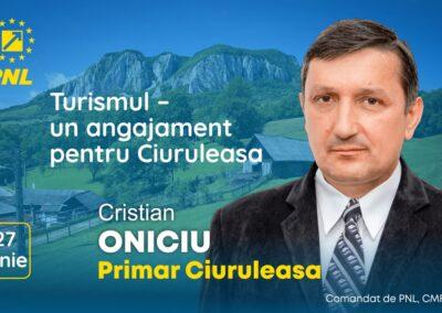 Cristian Oniciu: Turismul – un angajament pentru Ciuruleasa